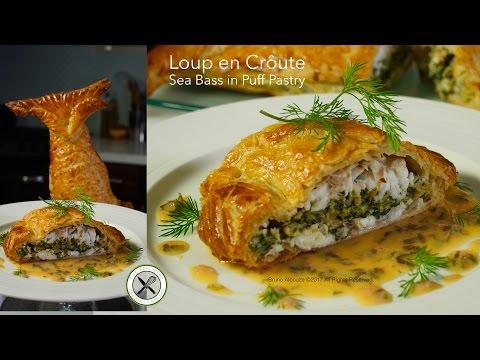 Loup En Croûte / Sea Bass In Puff Pastry – Bruno Albouze