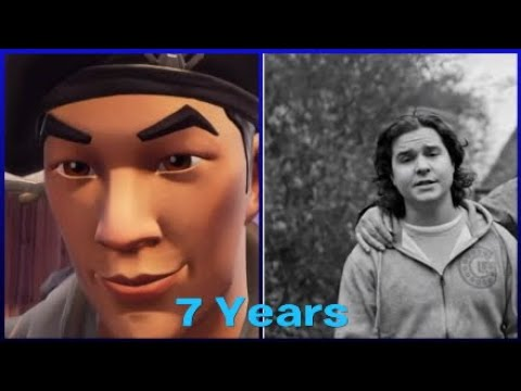 7 Years - Lukas Graham | remade Fortnite music Video