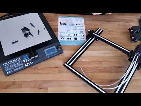 Geeetech A20M DualColor 3D Drucker Unboxing German
