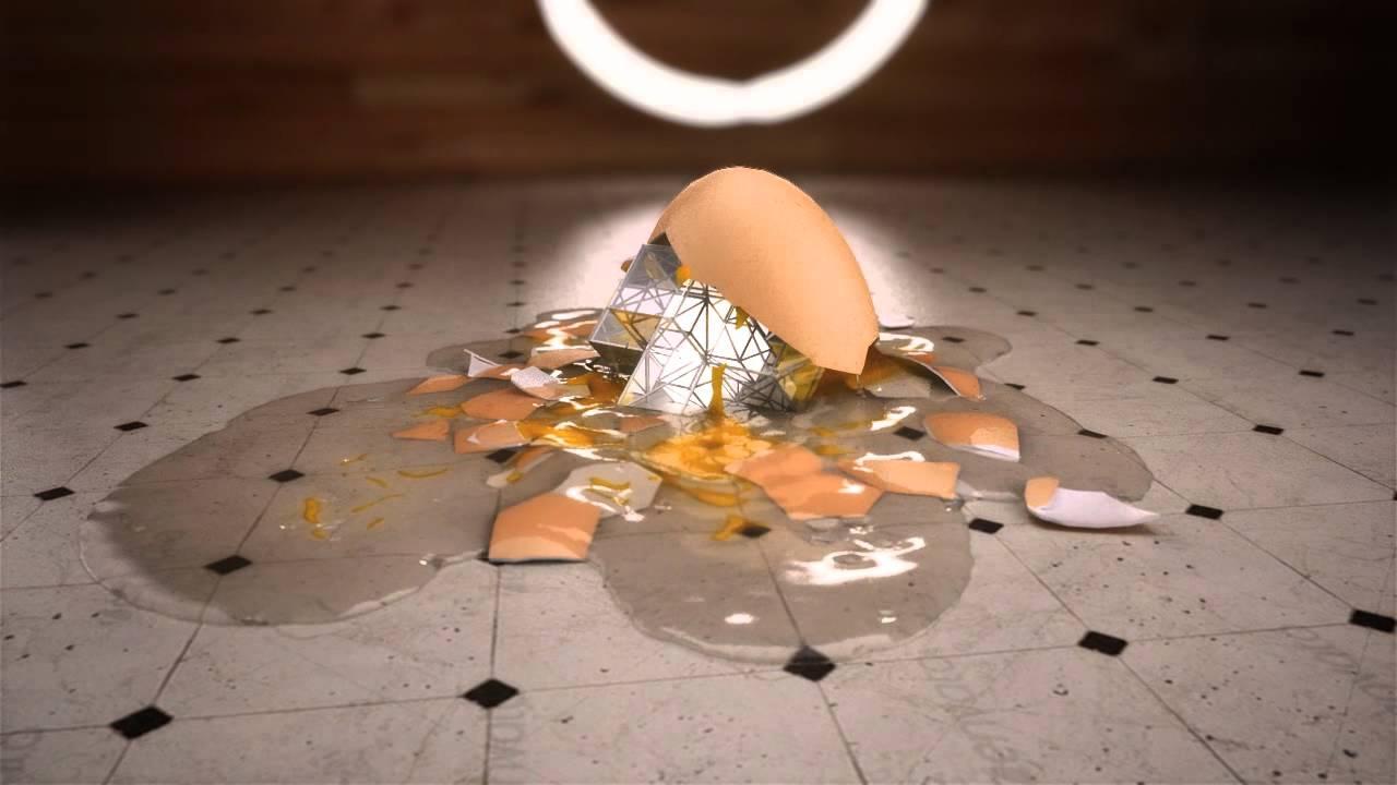 Egg Splatter Realflow 3dstudio Max 2012 Vray Youtube