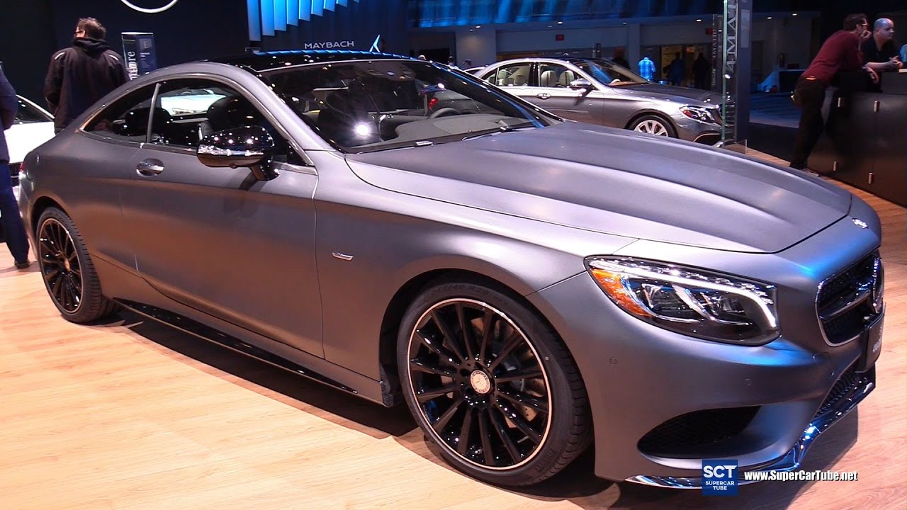 2017 mercedes s class s550 coupe night edition exterior. Black Bedroom Furniture Sets. Home Design Ideas