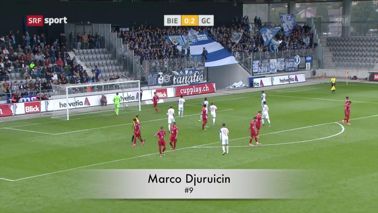 Schweizer Cup 1/16 Final FC Biel/Bienne - GCZ 0:5 - YouTube
