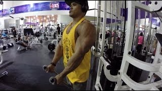 Push Workout, Steroid Talk, Met Team The Online Coach Subscriber David Gonzales