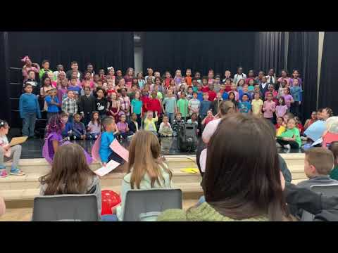 Singing With My First Grade Classmates 2019 | #google #instagram #singing