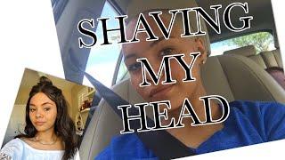 SHAVING MY HEAD |Gyovanna Souza