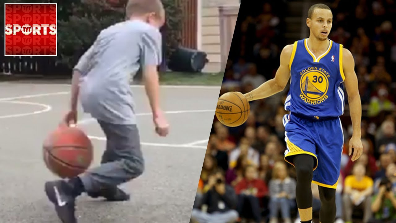 STEPH CURRY'S MOVES Ripped by Little Kid