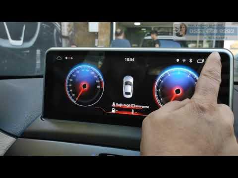 BMW X3 Android Multimedya Navigasyon Ekran Ve Joystick Montajımız - Emr Garage Ankara