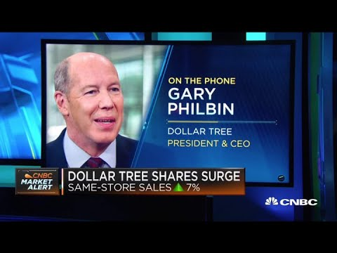 Dollar Tree CEO Gary Philbin On Consumer Demand