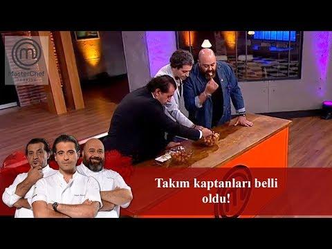 MasterChef Türkiyede Takım Kaptanları Belli Oldu! | 17. Bölüm | MasterChef Türkiye