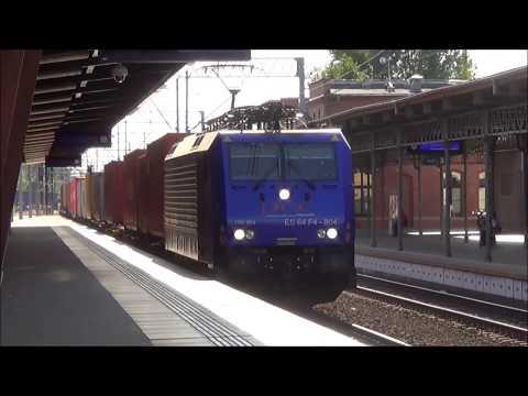 Pociągi na stacji Toruń Główny | Sierpień 2019