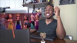 Ralph Breaks the Internet: Wreck-It Ralph 2 Official Trailer - REACTION!!!
