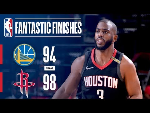 The Rockets Defeat The Warriors in EPIC Game 5!