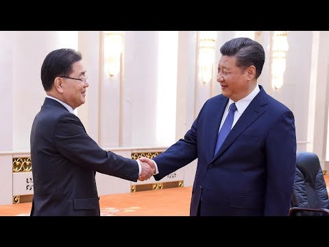 President Xi meets ROK president's top national security adviser