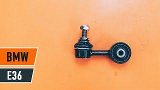 Πώς αλλαζω Άρθρωση Μπάρα ALFA ROMEO 159 Sportwagon (939) - οδηγός βίντεο