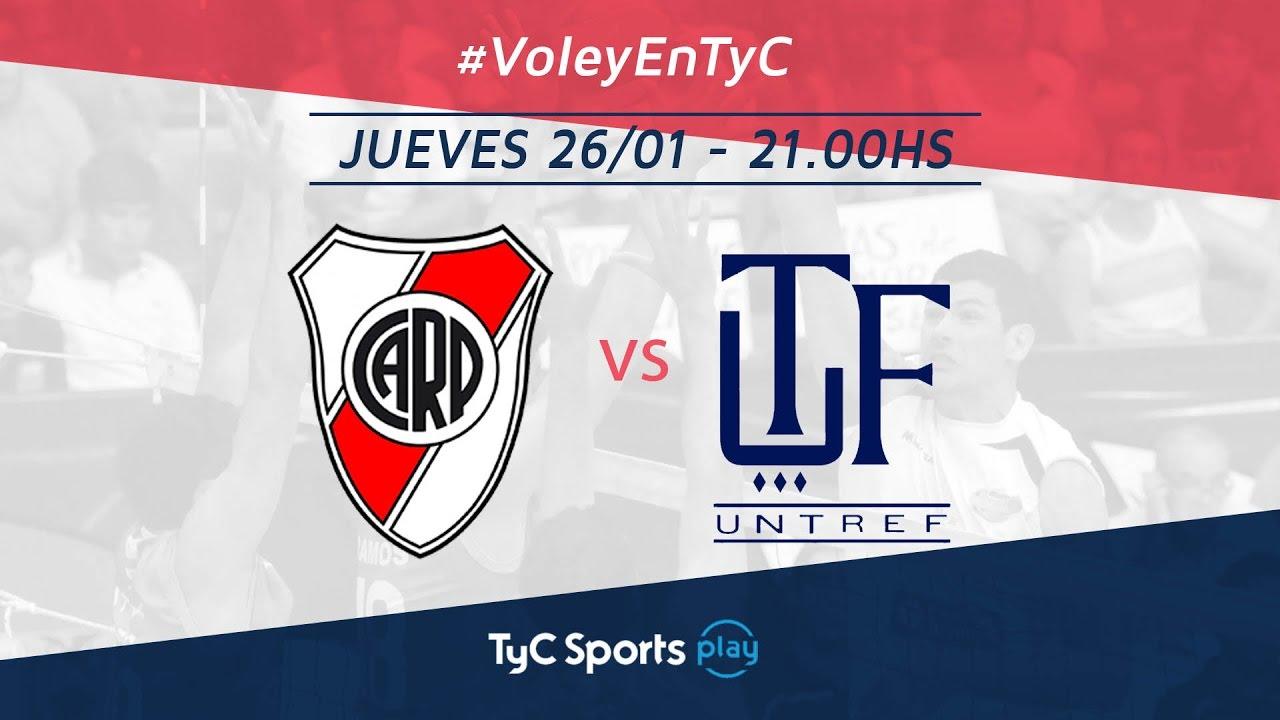 Liga Argentina: River Plate vs. Untref Voley l #VoleyEnTyC ...