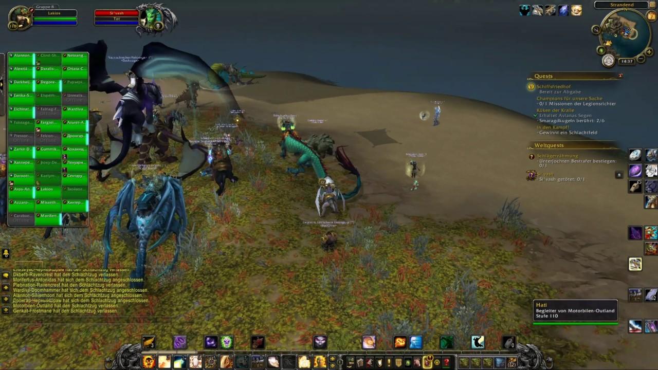 World Of Warcraft Legion Deutsch 521 Drei Missionen Oder Eine