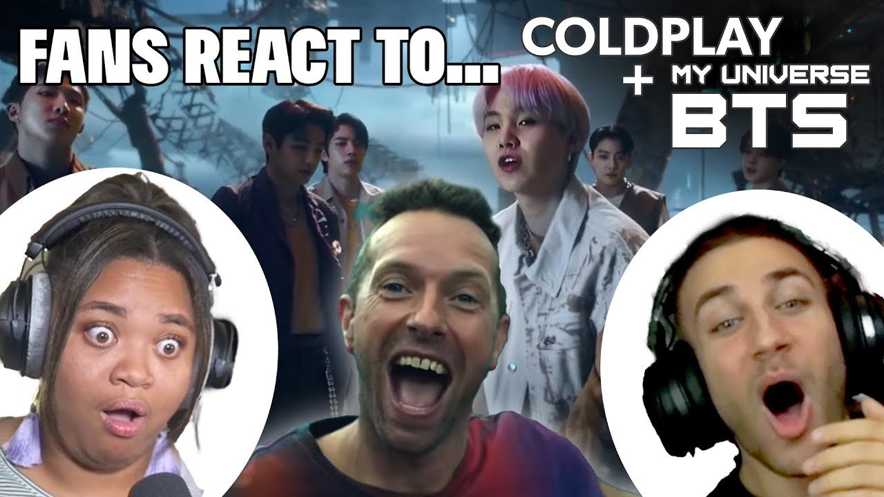 Best Reactions - Coldplay X BTS - My Universe | REACTION MASHUP !!