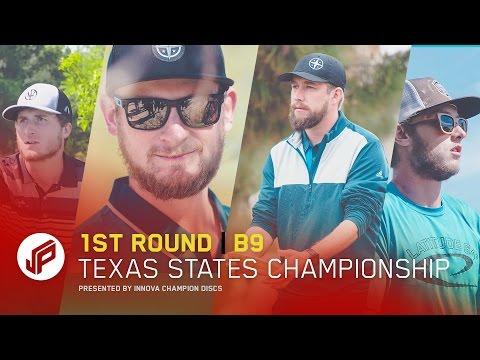 2017 Texas States | Round 1, Back 9 | Sexton, Koling, Dickerson, Cumpton