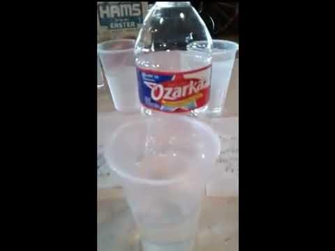 Lishtot Testdrop Pro Ozarka Spring Water VS Houston TX Tap Water 77036