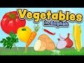 Vegetables in English