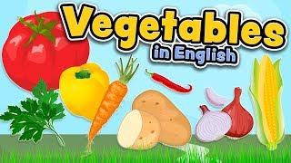 Groenten in het Engels (Vegetables in English)