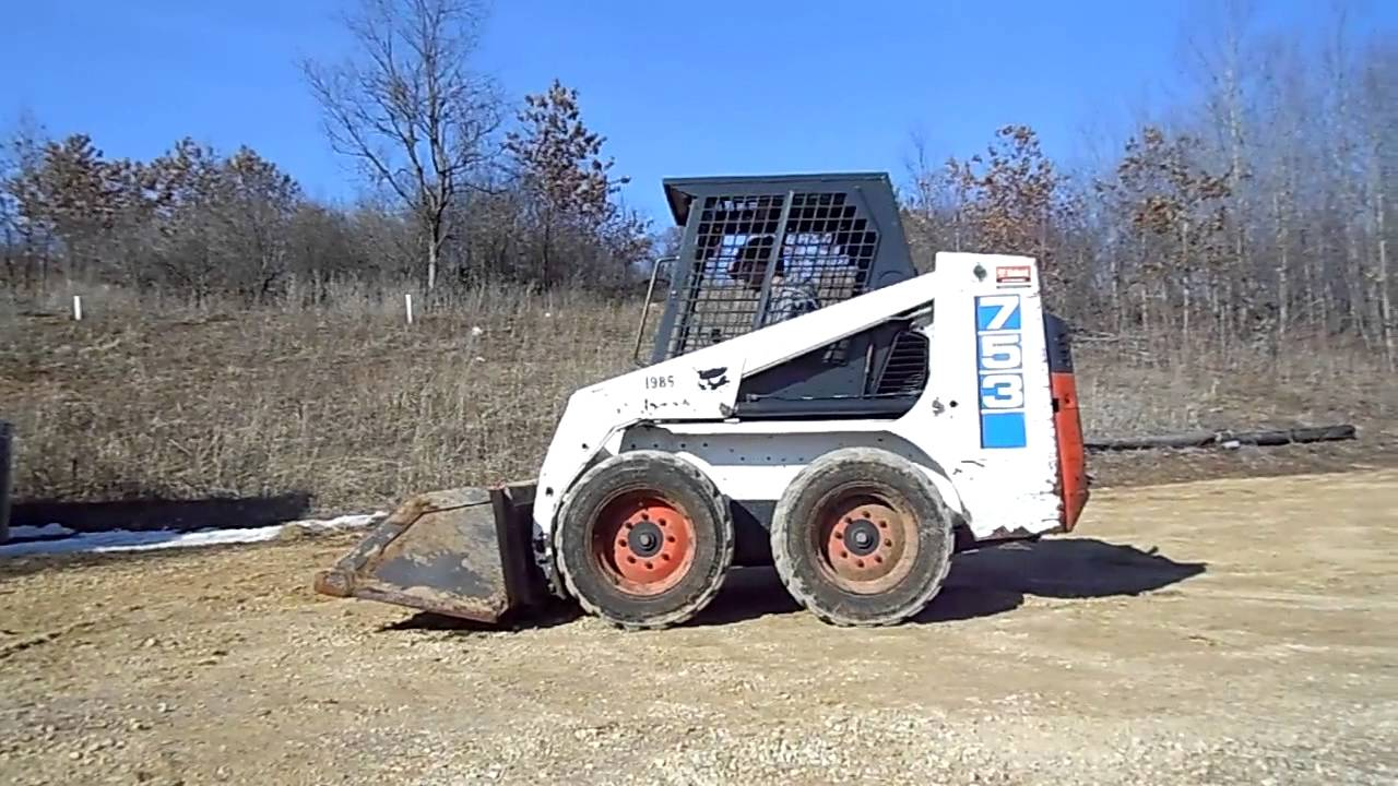 1996 Bobcat 753 Skid Steer Loader For Sale Youtube