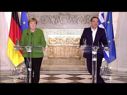 10.01.2019 - PK Merkel Tsipras - Staatsbesuch Griechenland