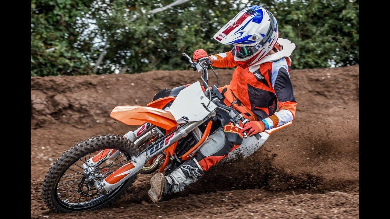 uk's fastest 85 rider shreds 2018 ktm sx - youtube
