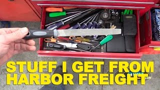 Stuff I Get From Harbor Freight -ETCG1