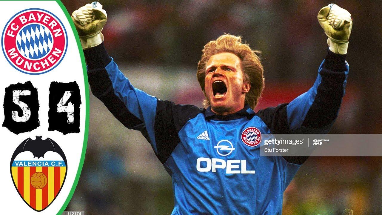 Download Bayern Munich vs Valencia 5-4 Final 2001 UCL [HD]