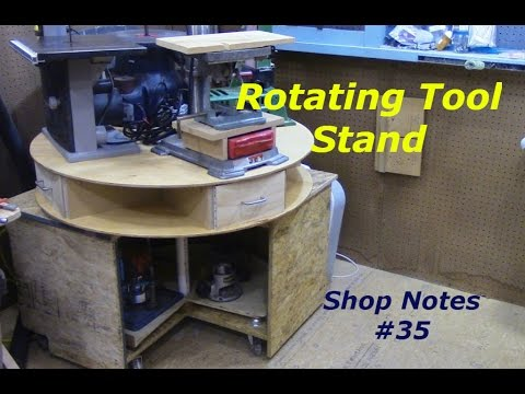 Rotating Tool Stand Youtube