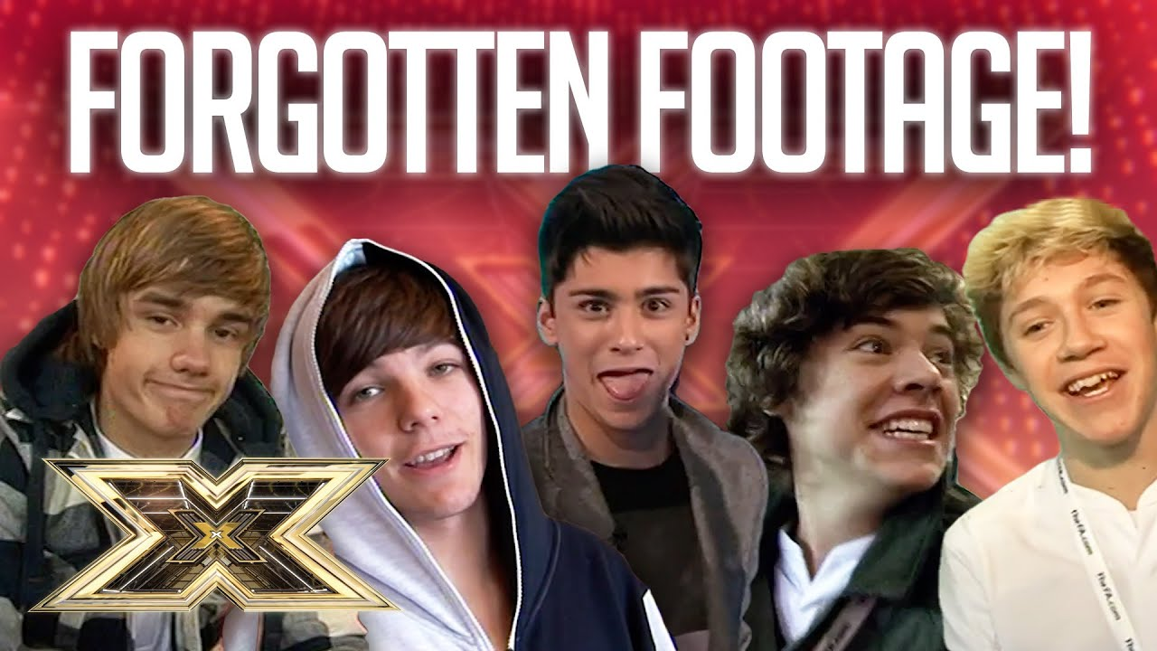 Download 1D'S FORGOTTEN FOOTAGE! | 10 Years of 1D | The X Factor UK