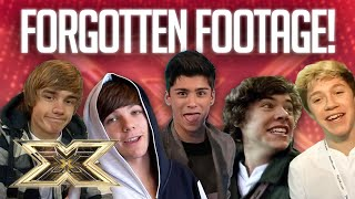 1D'S FORGOTTEN FOOTAGE! | 10 Years of 1D | The X Factor UK