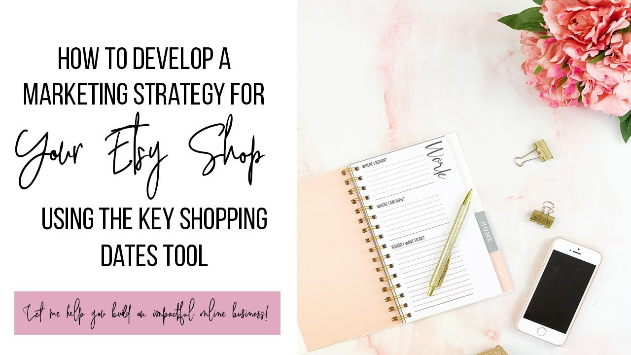 How To Develop A Marketing Strategy For Your Etsy Shop Using The Key Shopping Dates