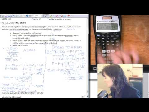Installment Loans: Bank B