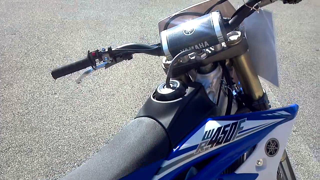 2014 Yamaha WR450F in Team Yamaha Blue Fuel Injection - YouTube