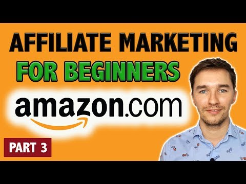 Amazon Affiliate Marketing Tutorial for Beginners [PART 3 - Building a Website with Wix] - EASY!!