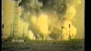 Fehlstarts und Unglücke in Baikonur