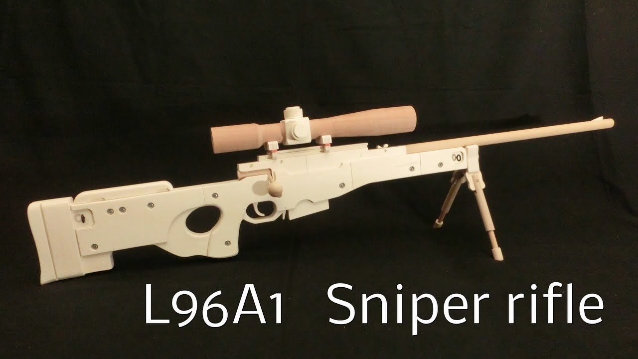 DIY wooden sniper rifle 15