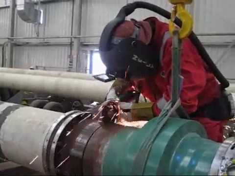 Pipeline Welding - Double Jointing