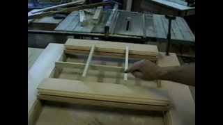 Part 1and 2 Of 4 Videos ,  How To Build An Antique Door