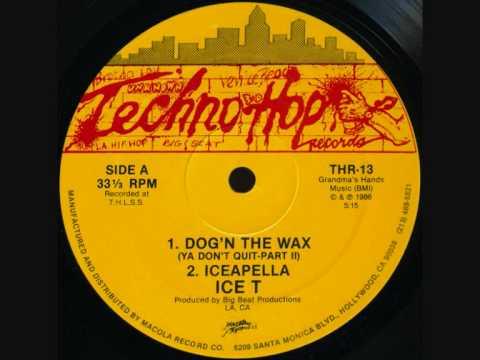 Ice T -Dog'N The Wax (Ya don't quit part II).wmv