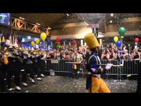 Southern University Marching Band in the Convention Center @ 2015 Bacchus Parade