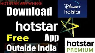 How To Download Disney Plus Hotstar VIP Outside India FREE |Hotstar App Download Kaise kare