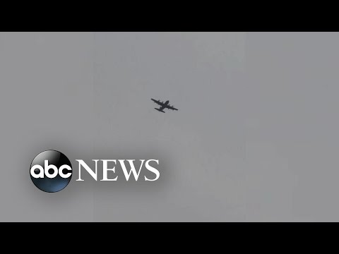 Military Plane, Helicopters Seen Flying Over NYC
