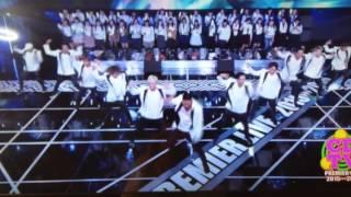 カウントダウンTVにて、初めての15人体制‼   松本利夫 USA MAKIDAIあり...