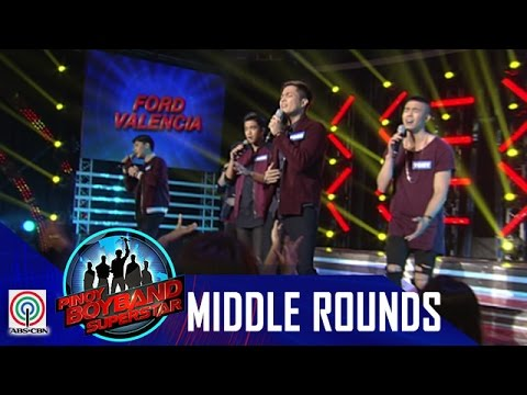 Pinoy Boyband Superstar Middle Rounds: Ford, Tony, Jindric, Angelo and Jimsen