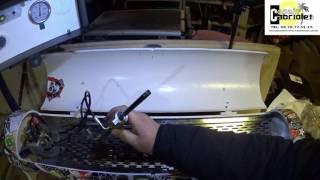 Copain Cabriolet en video   test vérins cabriolet