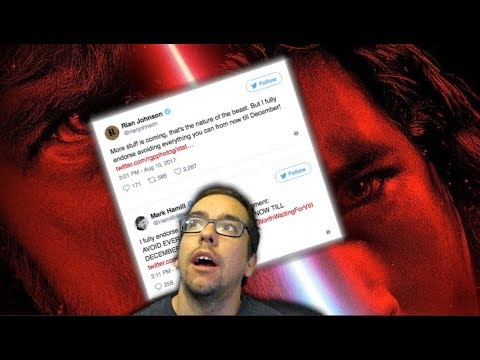 AVOID EVERYTHING STAR WARS THE LAST JEDI UNTIL DECEMBER! If only...