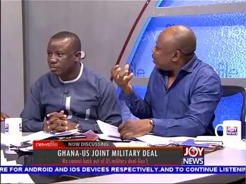 Ghana-US Joint Military Deal PT2 - Newsfile on JoyNews (24-3-18)